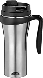 Trudeau Maison Paige Travel Mug, 16 oz, Stainless Steel