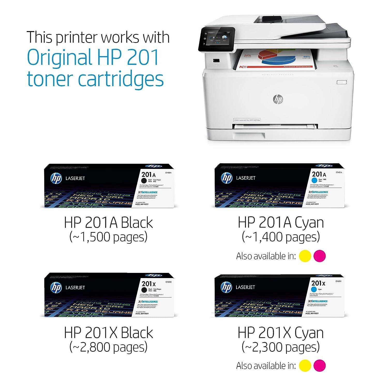 HP Laserjet Pro Pro MFP M277dw 600 x 600dpi láser A4 18ppm WiFi ...