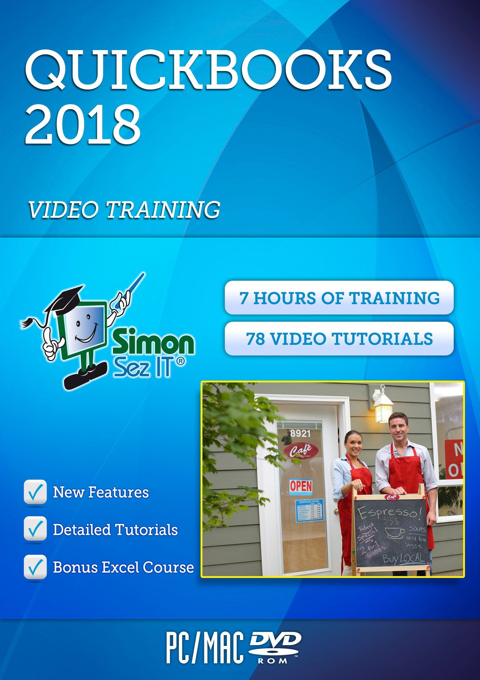 Master QuickBooks® 2018 Training Course by Simon Sez IT