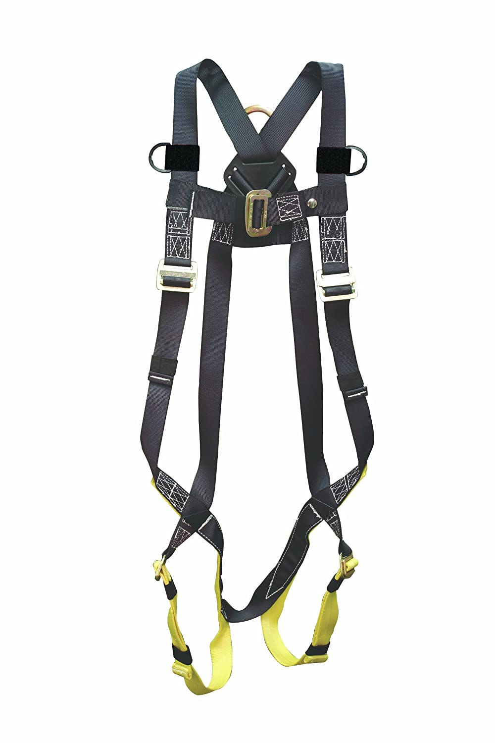 Elk River 42109 Universal Polyester//Nylon Full Body 1 Steel D-Ring Harness with Parachute Mating Buckles and Fall Indicator Fits Medium to 2X-Large Inc