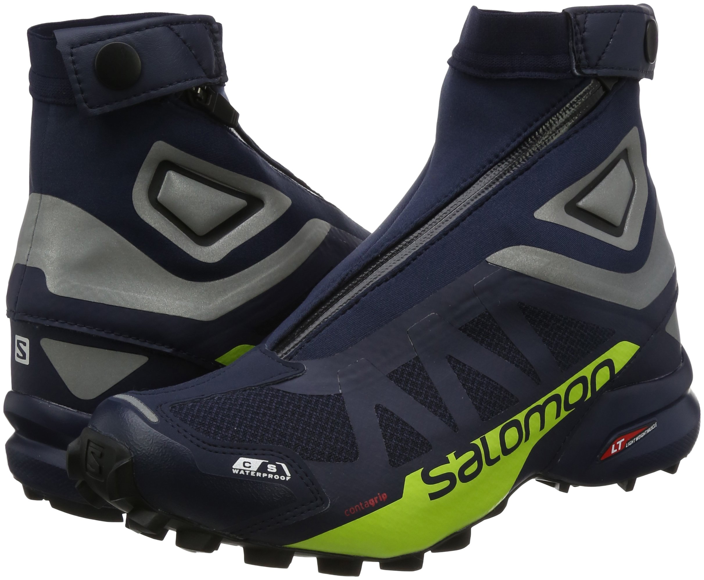 Salomon Snowcross 2 CS Waterproof Trail Running Shoe - Men's-Navy Blazer/Reflective L39451200-8.5 by Salomon (Image #5)