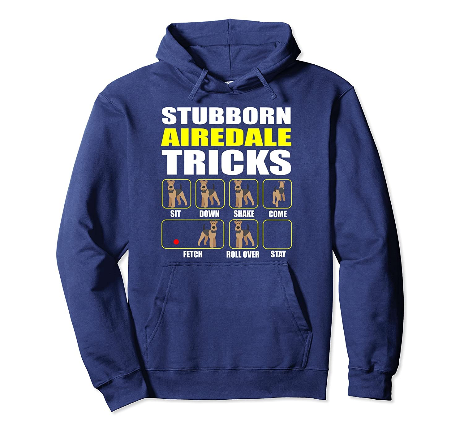 Airedale Terrier Pullover Hoodie