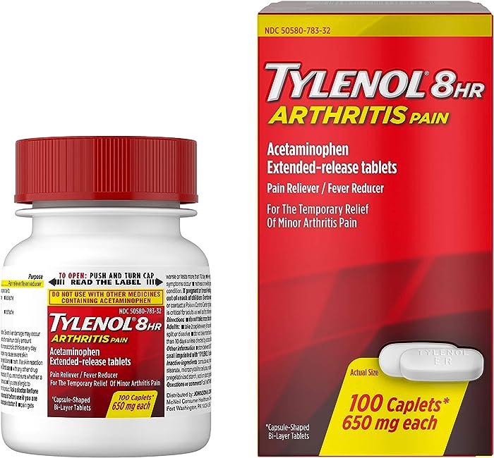 Top 9 Tylenol Home Arthritis Extended Relief
