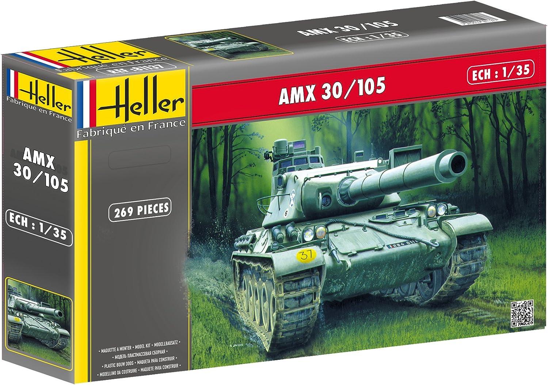Glow2B Heller 81137 Modellino carro Armato AMX 30//105