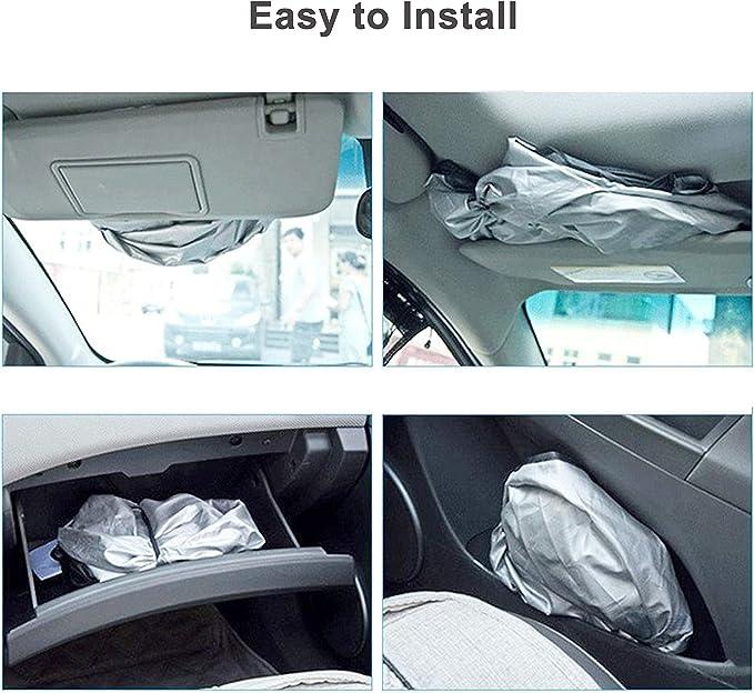 con protezione raggi UV per mantenere il veicolo fresco 188/x 90 cm dimensione jumbo adatto per parabrezza di varie dimensioni facile da usare Likorlove parasole per parabrezza auto