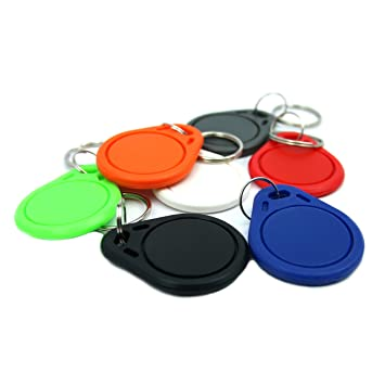 NFC21 - Llaveros NFC (168 Bytes, 7 unidades), 7 ciolores ...