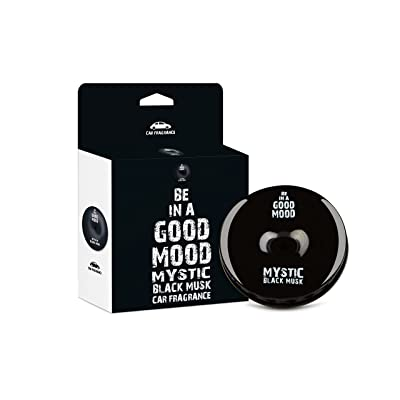 Be in a Good Mood Car Fragrances | Essential Oils | Car Air Freshener with Easy-to-Use Air Vent Diffuser | Boost Your Mood & Eliminate Unpleasant Odors (Black Musk): Automotive