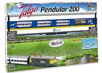 PEQUETREN - Talgo Pendular 200, Tren con Circuito de 5.8 m (975)