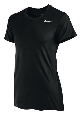 Nike Camisa de mujer con leyenda negra, talla mediana: Amazon.es: Deportes y aire libre
