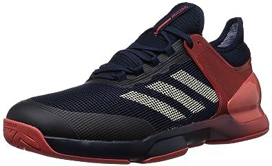 separation shoes 7048d d782c adidas Performance Mens Adizero Ubersonic 2 Tennis Shoe, Night NavyEcru  TintTrace