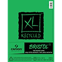 """Canson XL Reciclado Bristol, 0, 0, 9"""" x 12"""" (23 cm x 30 cm), 1"""