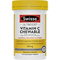 Swisse Ultiboost Vitamin C Chewable 110 Tab, 0.1420 kilograms