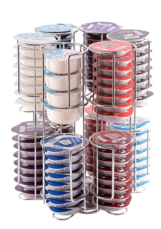 Soporte de 96 cápsulas Tassimo | El mayor soporte de cápsulas del mercado | De una Calidad Incomparable, Calidad Garantizada por Babavoom® T96: Amazon.es: ...