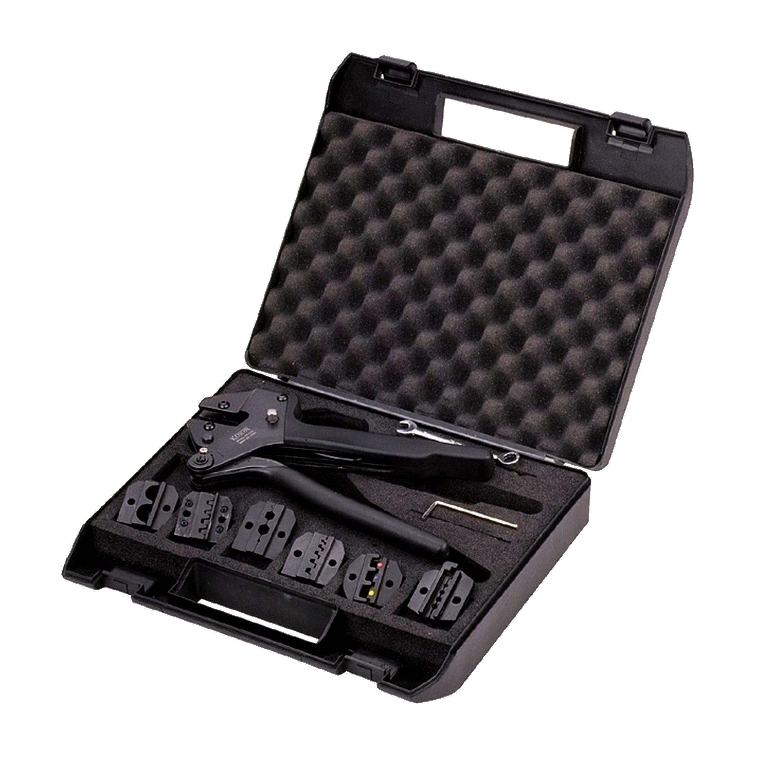 Homevision Technology HV2528 Professional Crimping Tool kit, Black