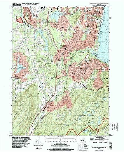 Hudson Ny Map >> Amazon Com Yellowmaps Cornwall On Hudson Ny Topo Map 1