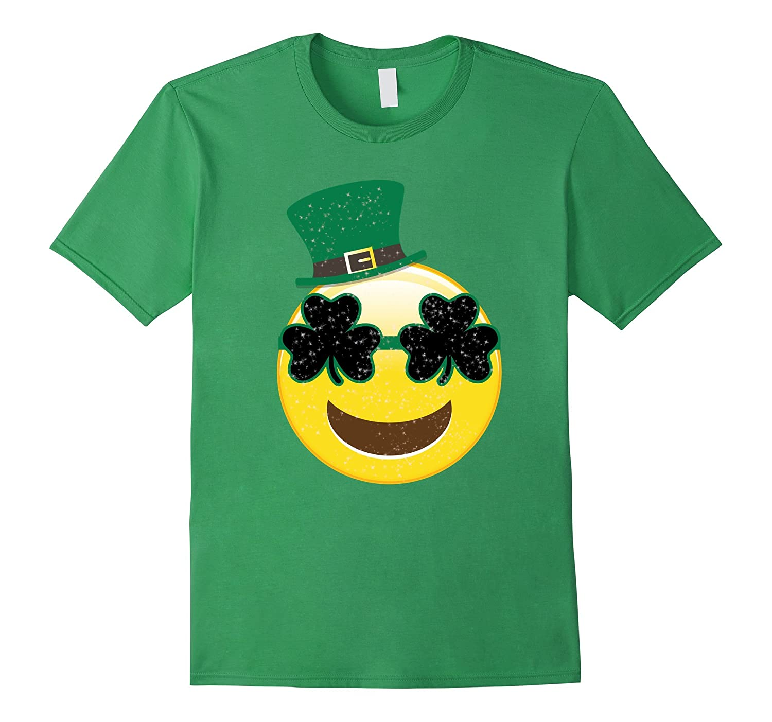 Emoji Smile Tshirt - Kids St Patricks Day Shirts-ah my shirt one gift