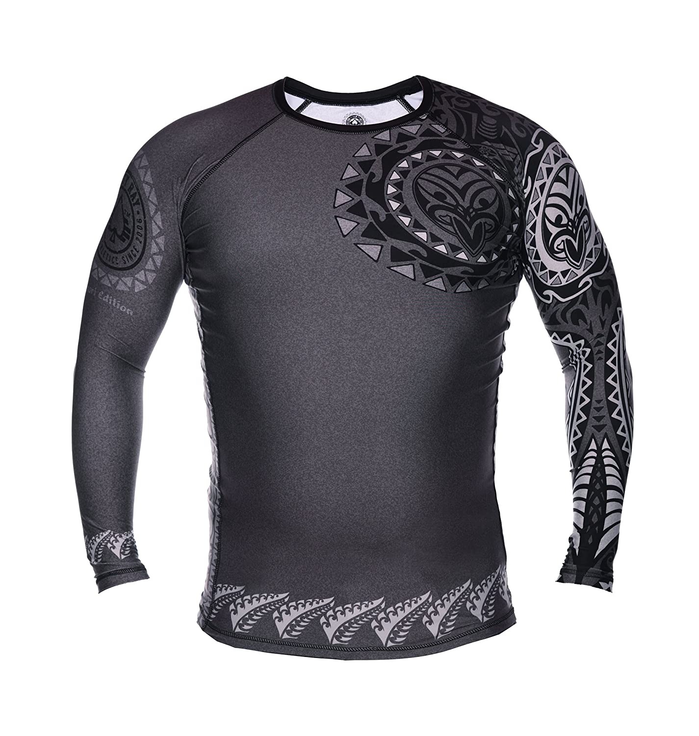 Image of Dirty Ray Long Sleeve Rash Guard MAORI