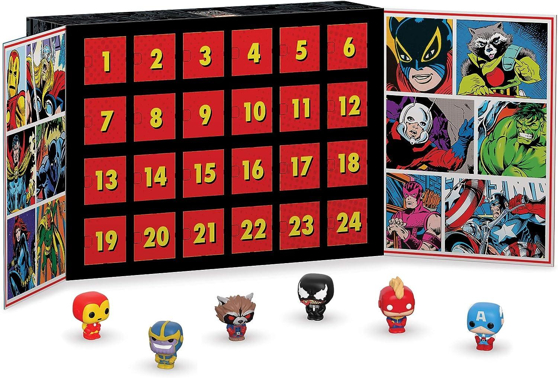 Funko Advent Calendar Marvel Calendario Adviento, Multicolor ...