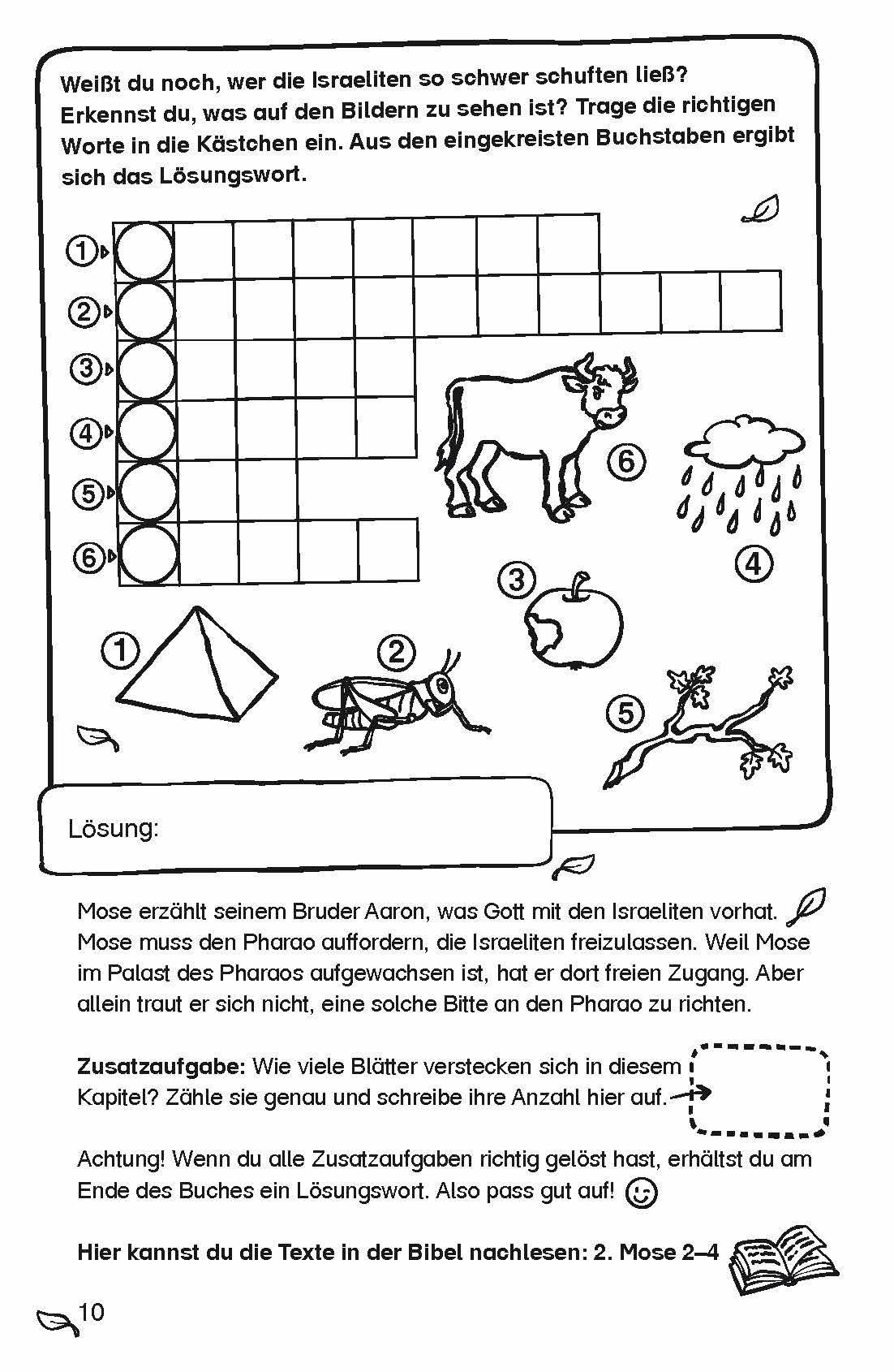 Das geniale Bibel-Rätsel-Buch: Flucht vor dem Pharao: Amazon.de ...