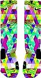 Psychedelic Prism Custom Nike Elite Socks