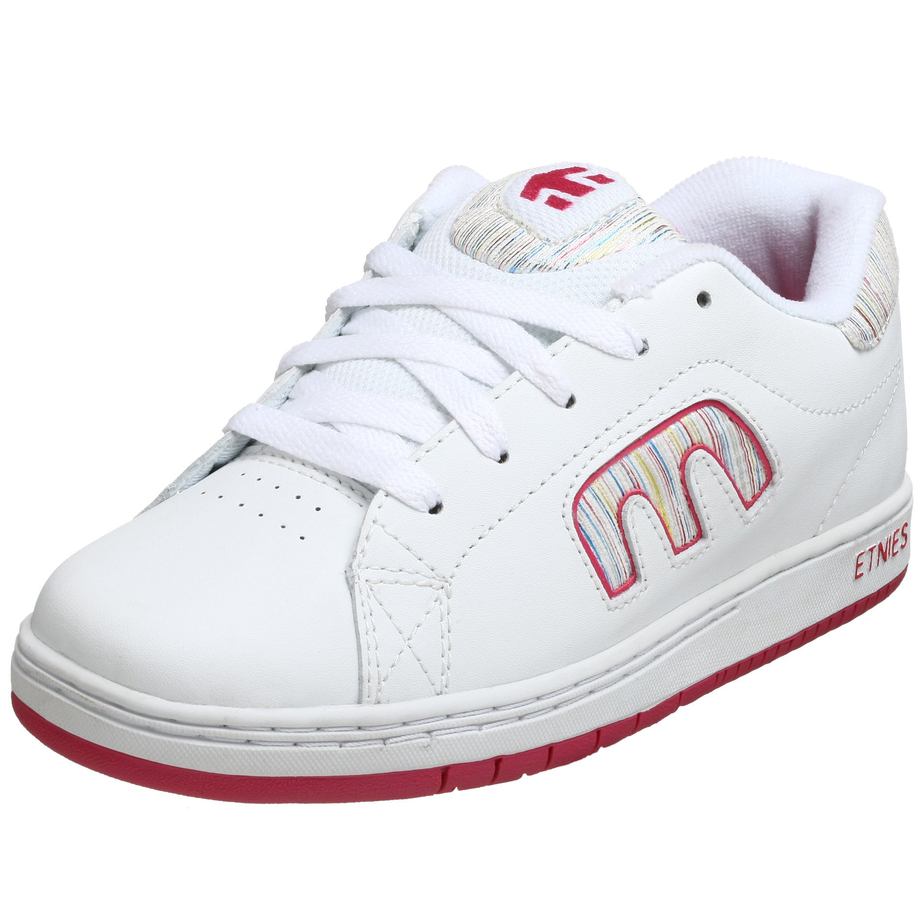 Etnies Little Kid/Big Kid Callicut Sneaker,Pink/White,4 M US Big Kid