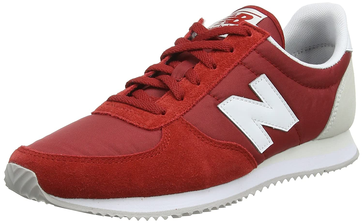 New Balance Women's 220v1 Sneaker B0751RDTYR 8 B(M) US|Tempo Red/Sea Salt