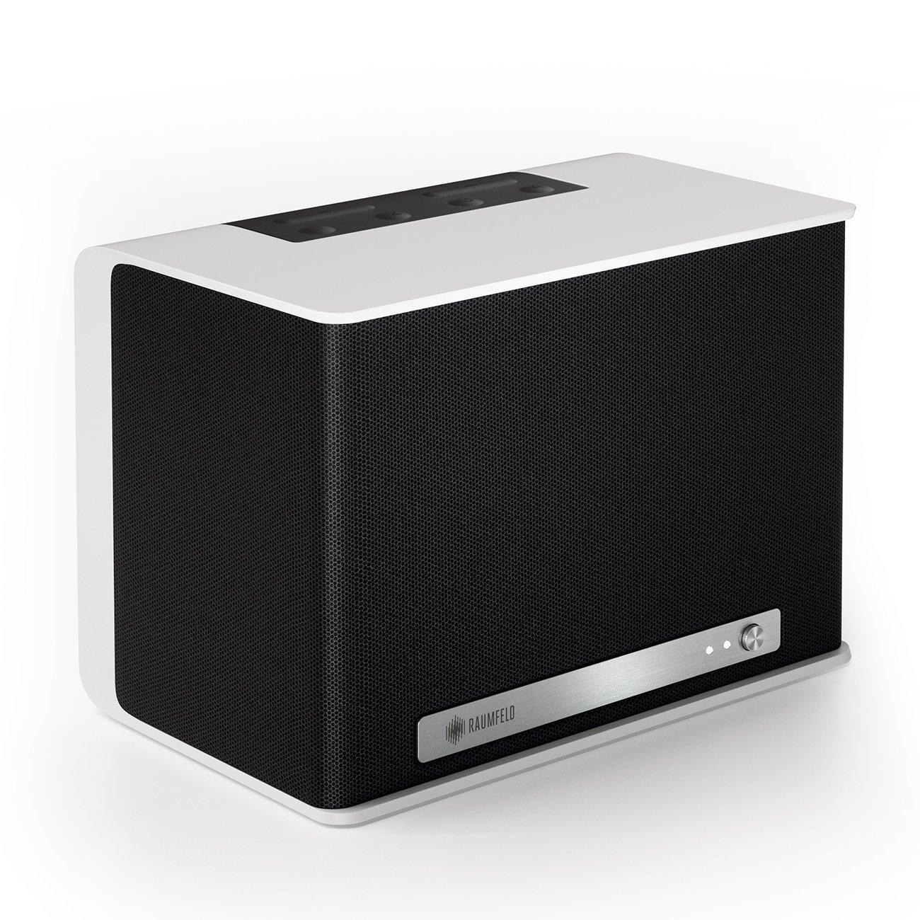 Raumfeld One S Mini-WLAN-Lautsprecher weiß (Streaming, WLAN, Spotify ...