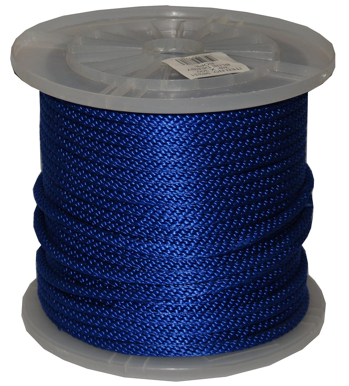 Blue T.W T.W Evans Cordage 96016 1//2-Inch by 300-Feet Solid Braid Propylene Multifilament Derby Rope Evans Cordage Co.
