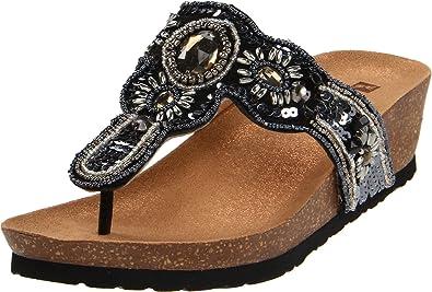 0fafef183a2e45 WHITE MOUNTAIN  BOUNTIFUL  Women s Sandal