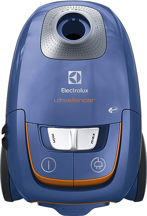 Electrolux EUS8X2SB Aspirador con Bolsa Ultrasilencer, Silent Zen, Aspiración AeroPro, Bolsa S-Bag Clinic Anti-Allergy, Sistema Motion Control, Steel Blue, 3.5 litros: Amazon.es: Hogar