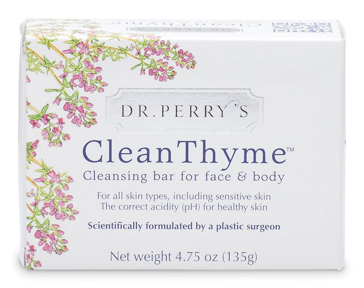 Dr. Perry s CleanThyme – Cleansing Bar for Face and Body Pack of 3 Bars