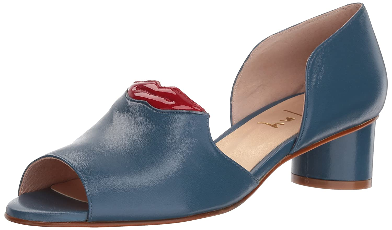 French Sole FS/NY Women's Bender Pump B0767SWXMY 6.5 B(M) US|Jeans