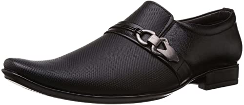 76bc973d305 Deekada Men s Black Party Wear Official Formal Shoes  Buy Online at Low  Prices in India - Amazon.in
