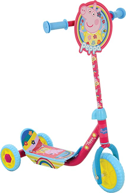 Amazon.com: Peppa Pig – My First Tri Scooter m14266: Toys ...