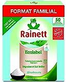 Rainett Tablettes Lave Vaisselle Tout en 1 Ecologique 50 Tablettes