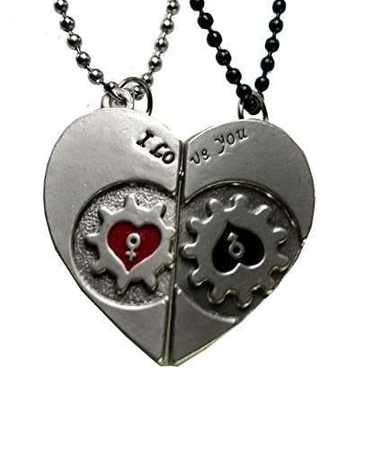 bd4985b54f Modish Look Love Magnetic Couple Valentine Locket with BeadedChain:  Amazon.in: Jewellery