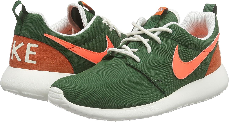 Nike Wmns Roshe One Retro, Zapatillas de Deporte para Mujer, Verde (Gorge Green/Brght Mango-SL-Blk), 36 EU: Amazon.es: Zapatos y complementos
