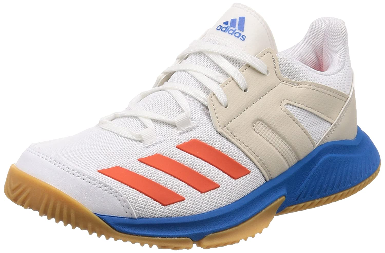 sale retailer 300b1 ab608 Adidas Essence, Zapatillas de Balonmano para Niños, Blanco  (Ftwbla Rojsol Azubri 000), 36 2 3 EU  Amazon.es  Zapatos y complementos