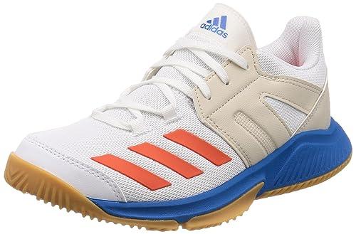 best loved 4a772 644c4 adidas Mens Stabil Essence Handball Shoes, White FtwwhtSolredBrblue, ...