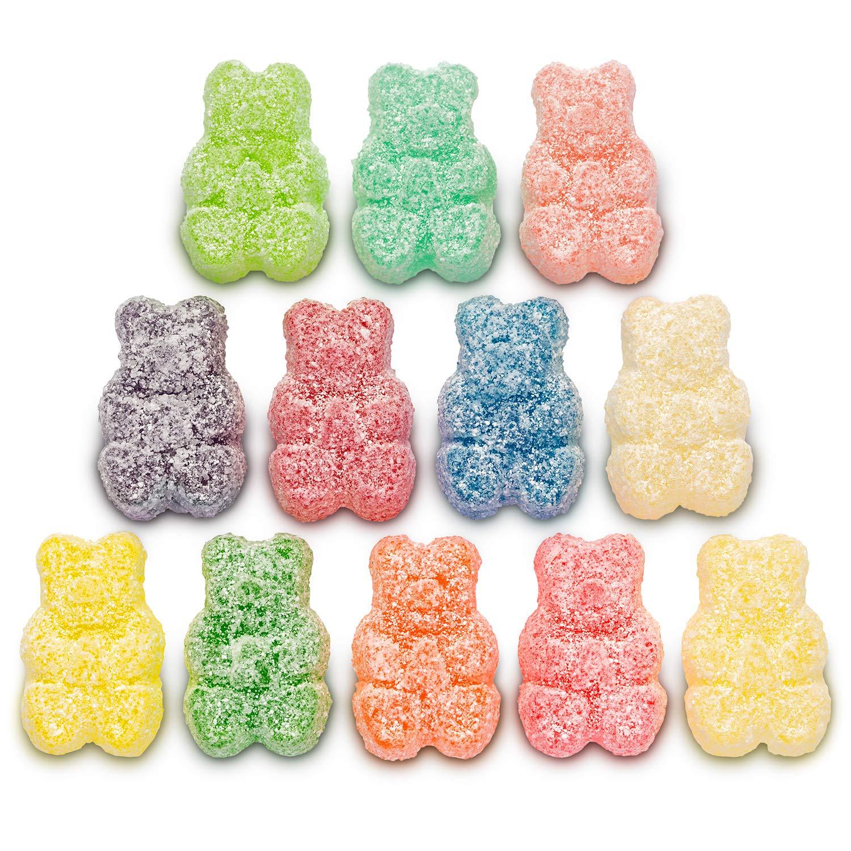 Sour 12 Flavor Gummi Bear : Grocery & Gourmet Food