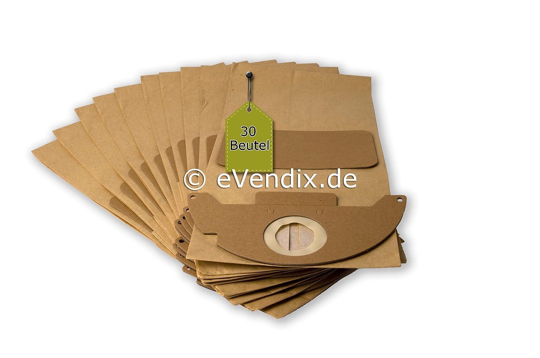 20 Bolsas de aspiradora apta para Kärcher A 2120 Me (K), 2 ...