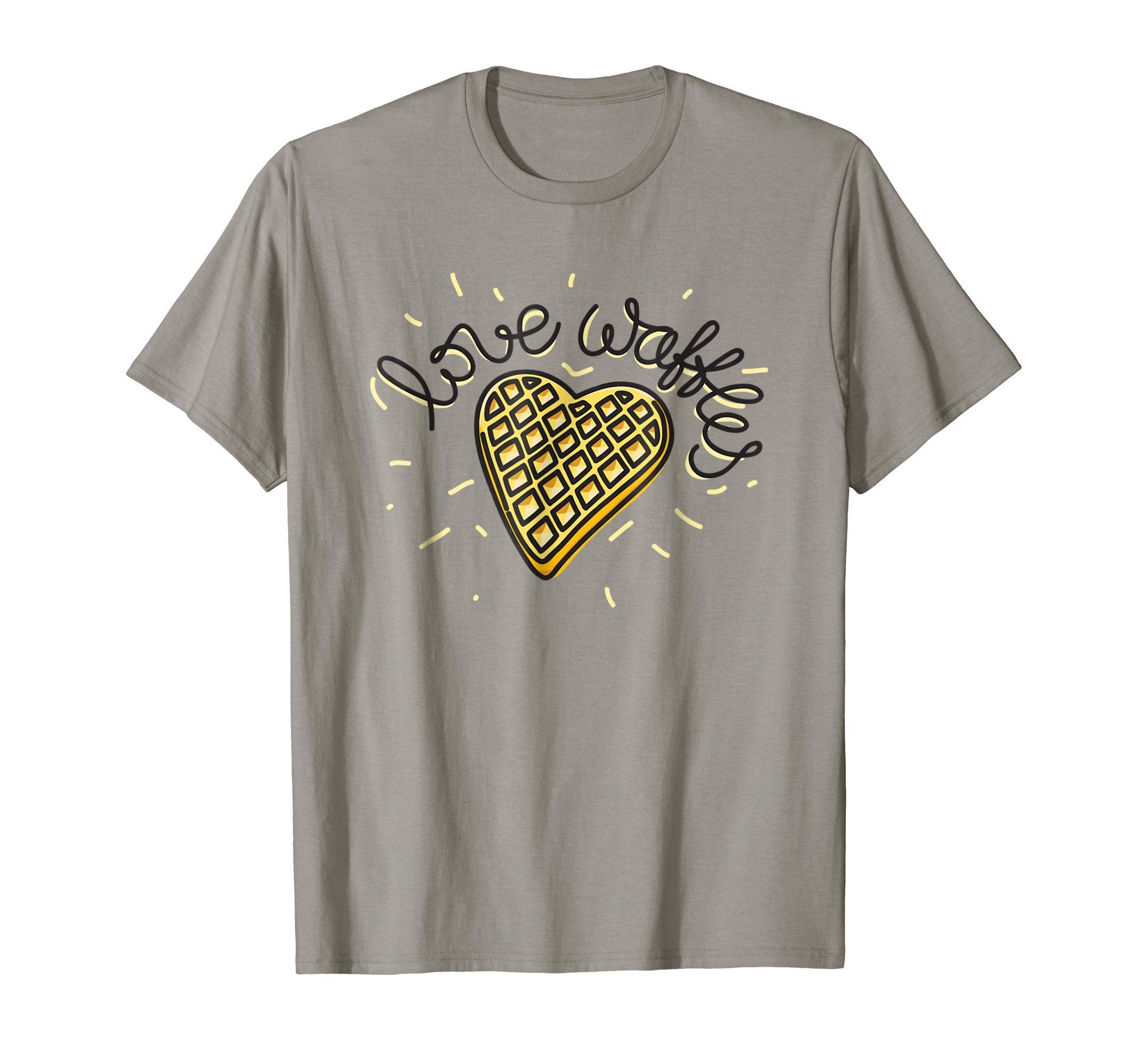 Love-Waffles-T-Shirt-Novelty-Fun-Shirt-Tee-Gift