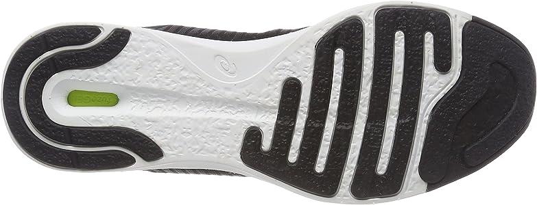 Asics Fuzex Rush Adapt, Zapatillas de Running para Mujer, Negro (Black/White/Dark Grey 9001), 37 EU: Amazon.es: Zapatos y complementos