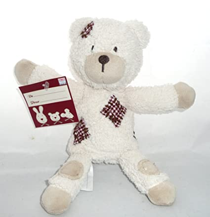 Sucre dOrge-Lote de Peluches, diseño de oso de Peluche con mantita