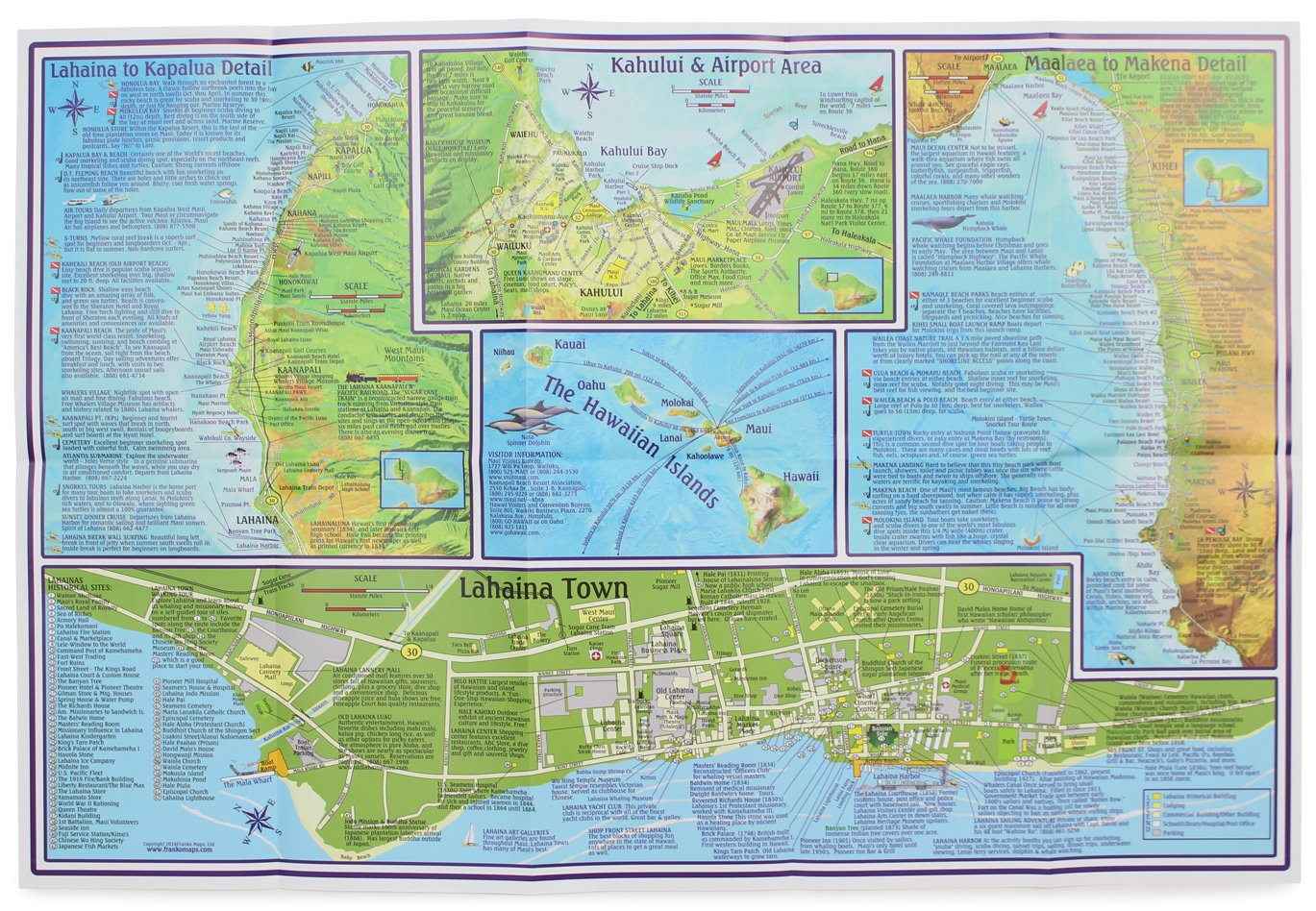 Frankos maui guide map frank m nielsen 9781601901439 amazon frankos maui guide map frank m nielsen 9781601901439 amazon books thecheapjerseys Image collections