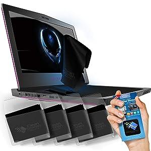 CLEAN SCREEN WIZARD Microfiber Laptop Keyboard Cover Cleaner for Laptops 17.3in, 17in, 16in, 15.6in Screen, Bundle Pack, Black