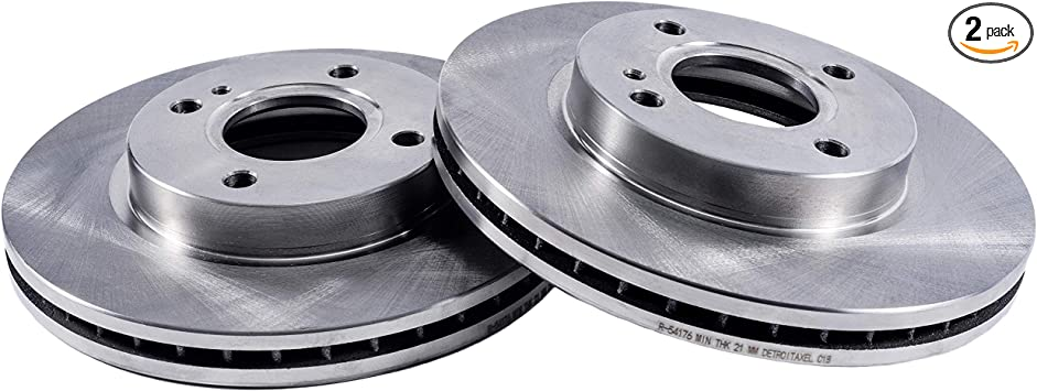 Wagner ThermoQuiet MX473 Semi-Metallic Disc Pad Set With Installation Hardware Front