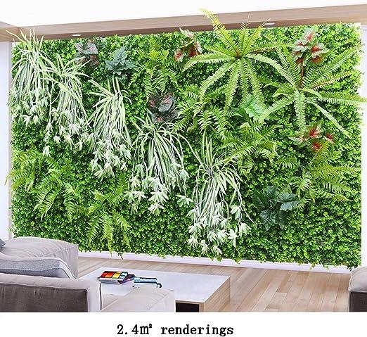 WENZHE Artificial Planta Vid Hiedra Colgante Hojas Interior Al ...