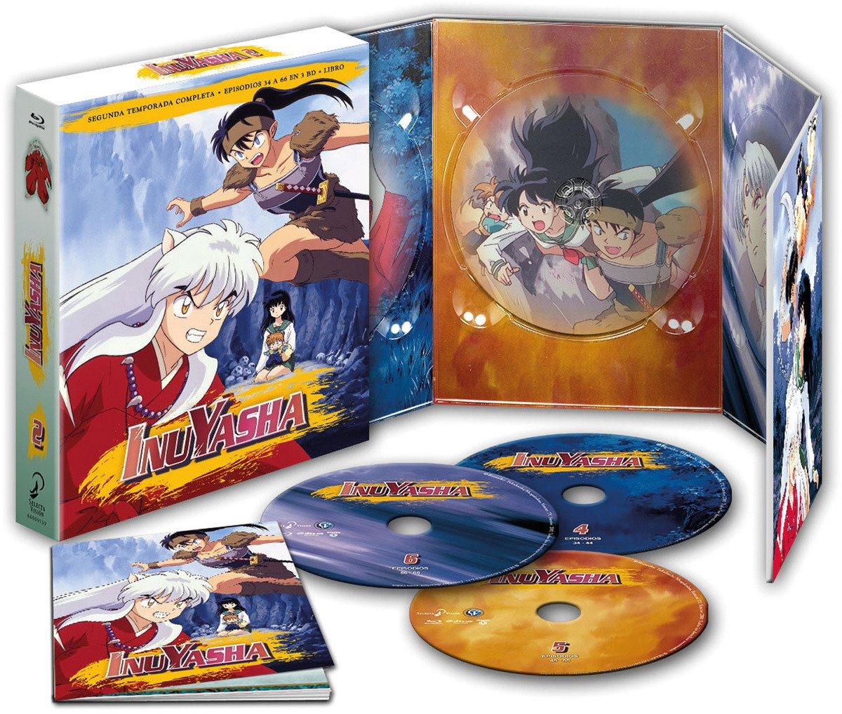 box episodios inuyasha