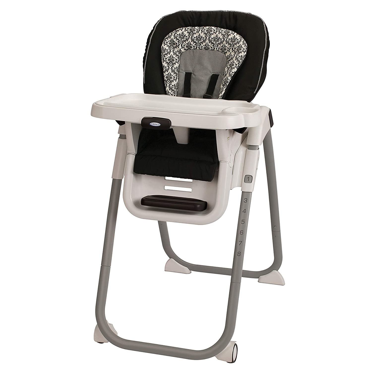 Graco TableFit Rittenhouse High Chair, Black/White
